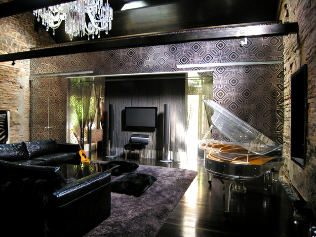 Rock N Rolling Your Space Inspirational Rooms With