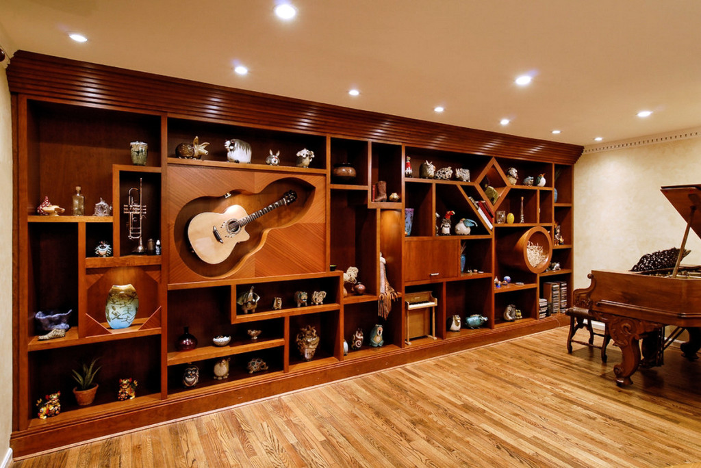 How to decorate a room with guitars Peter Staunton Interior Design