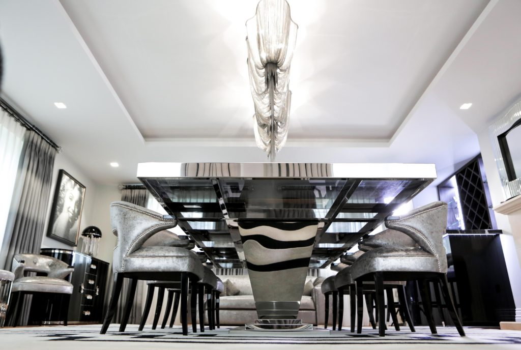Harbury country house our art deco rock n roll chic for Interior design challenge art deco