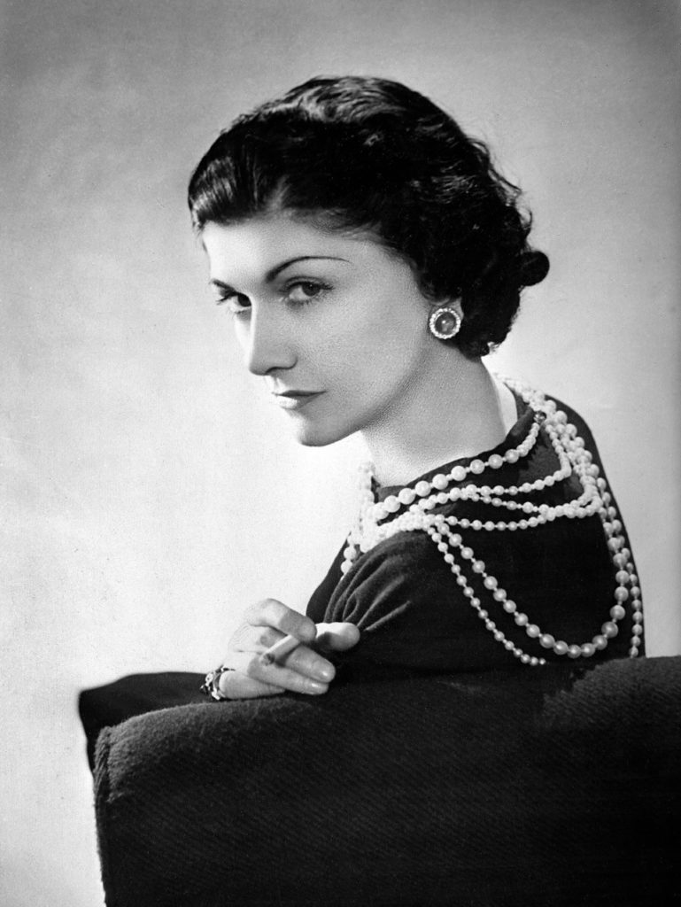 5 Top Fashion Designers picked by Peter Staunton Interior Design - Coco Chanel
