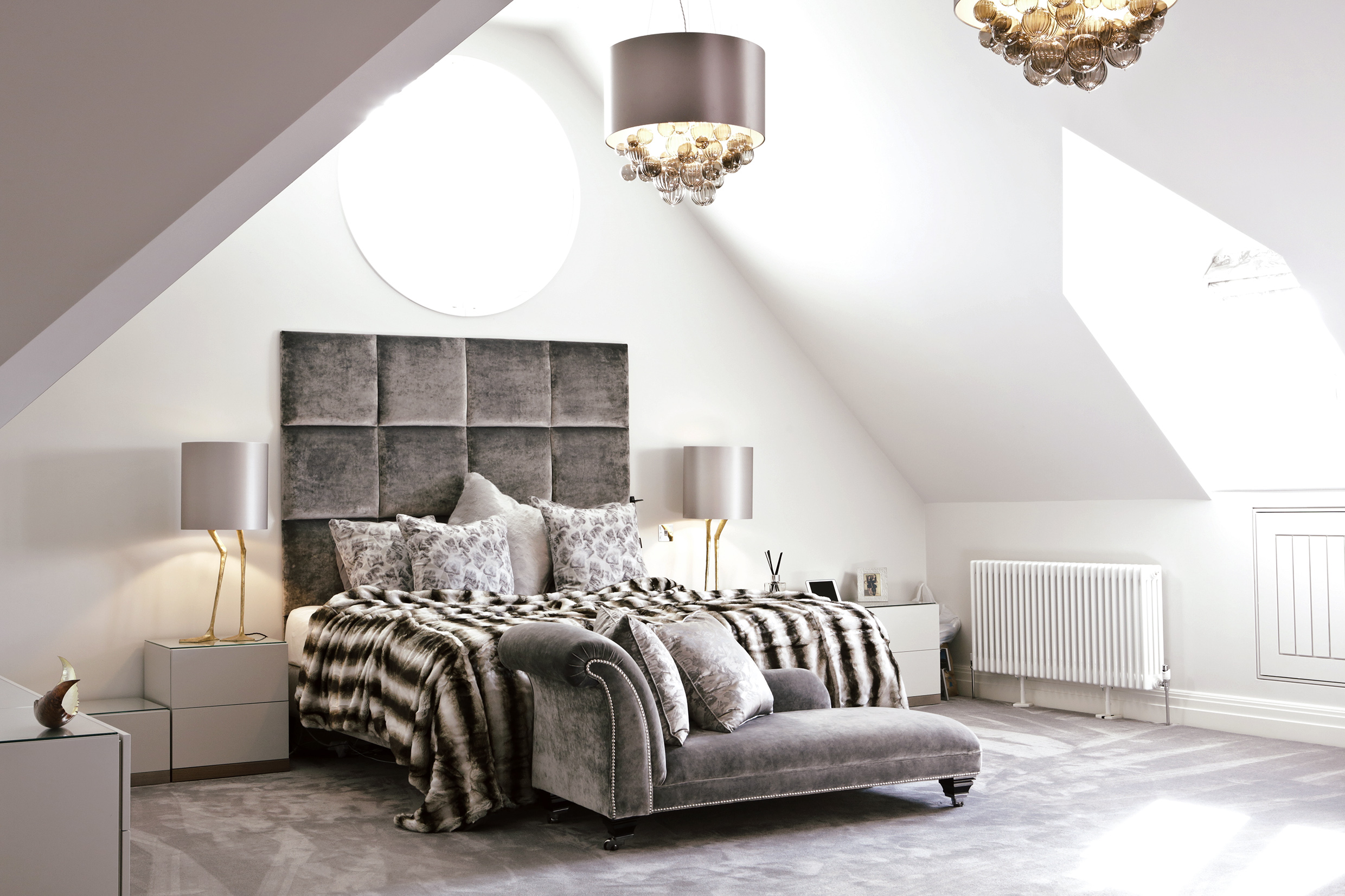 Peter Staunton Interior Design Flint Hall Bedroom Leamington Spa Warwickshire