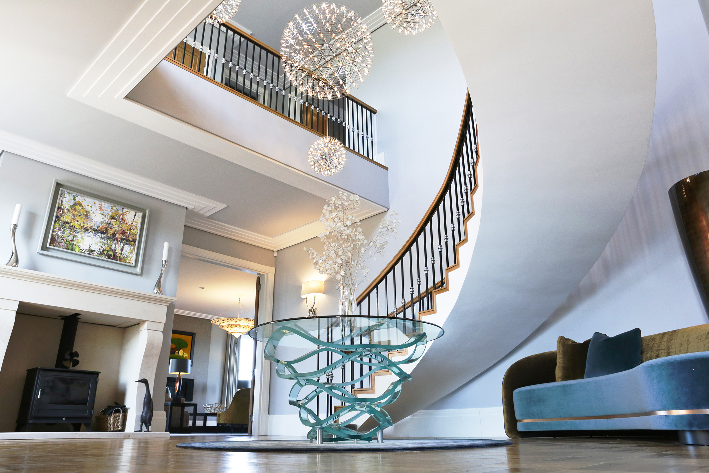 Peter Staunton Interior Design - Flint Hall Entrance