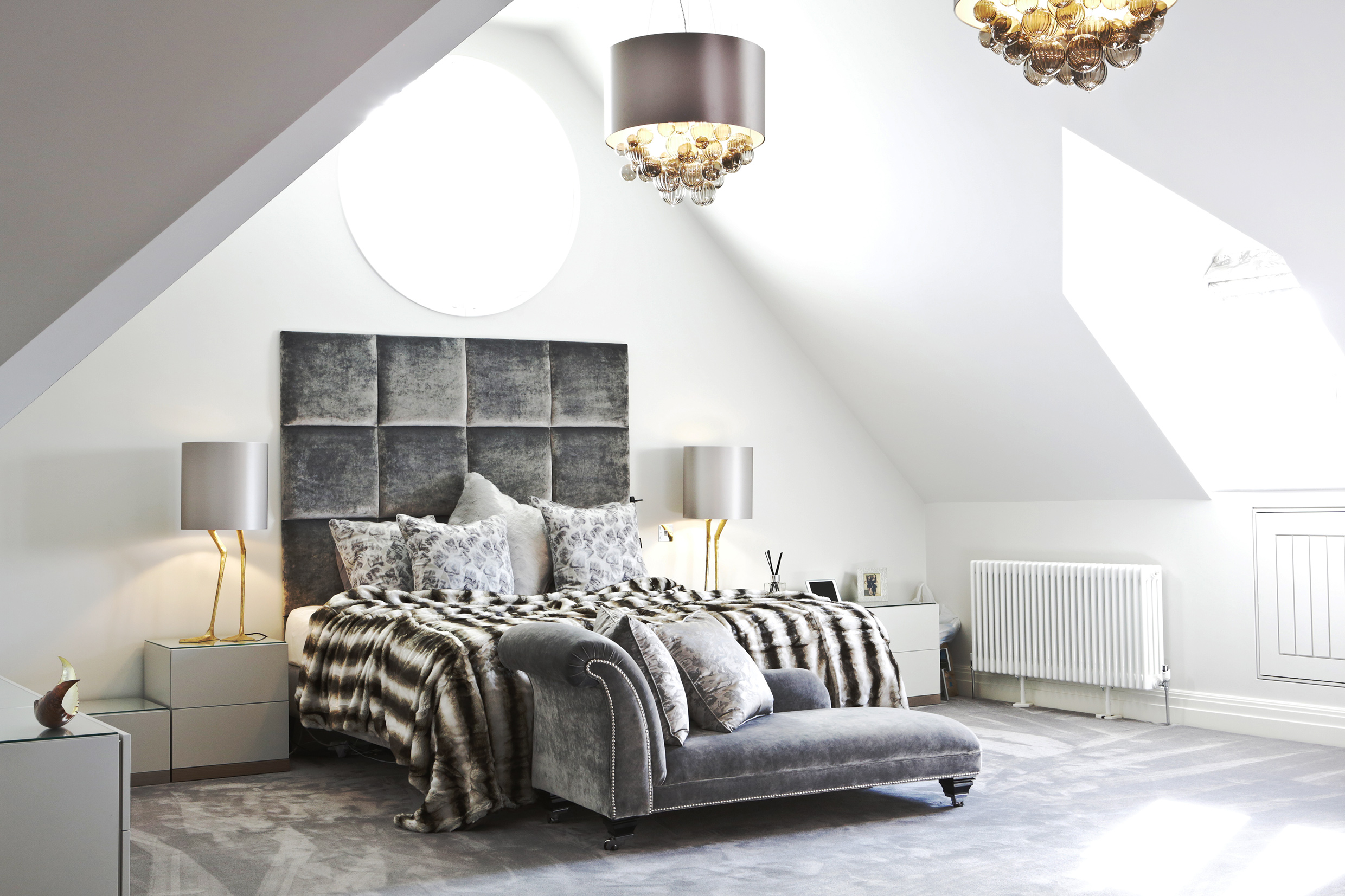 Peter Staunton Interior Design Flint Hall L Bedroom Leamington Spa Warwickshire