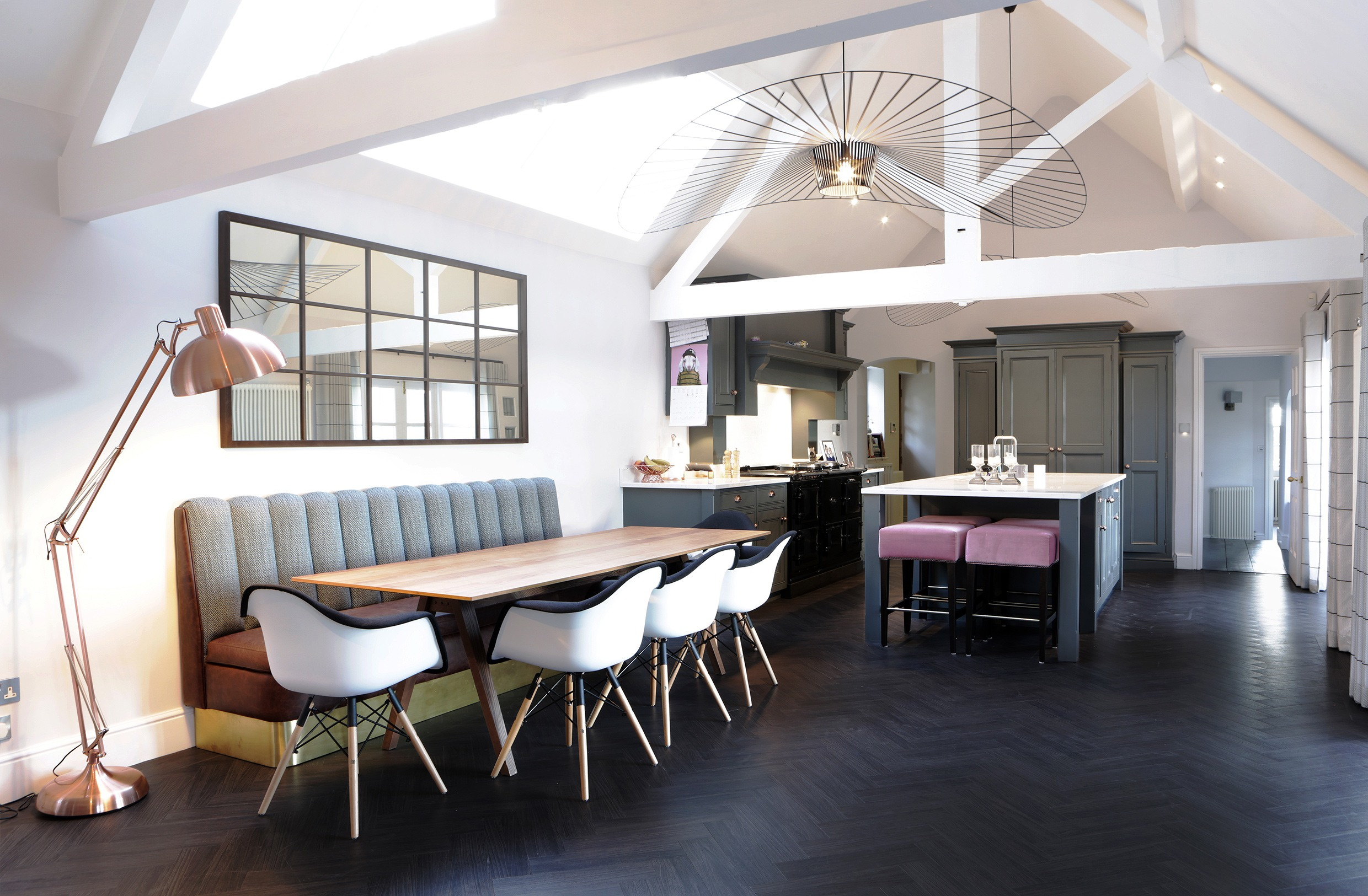 Peter Staunton Interior Design - Parkers Barn Farm Kitchen Leamington Spa Warwickshire