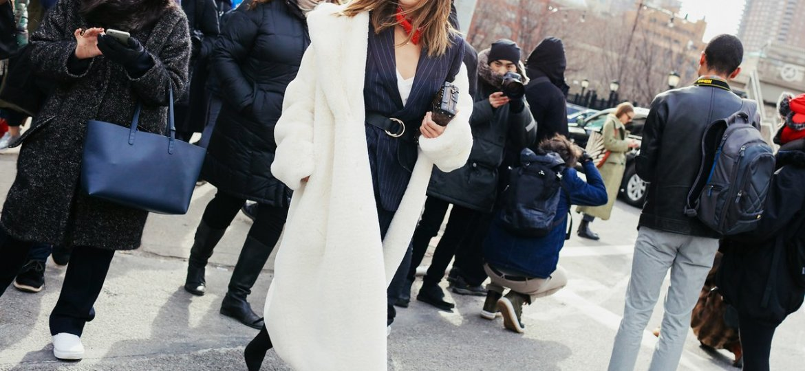 New York Fashion Week Spring 2016 Street Style Aimee Song