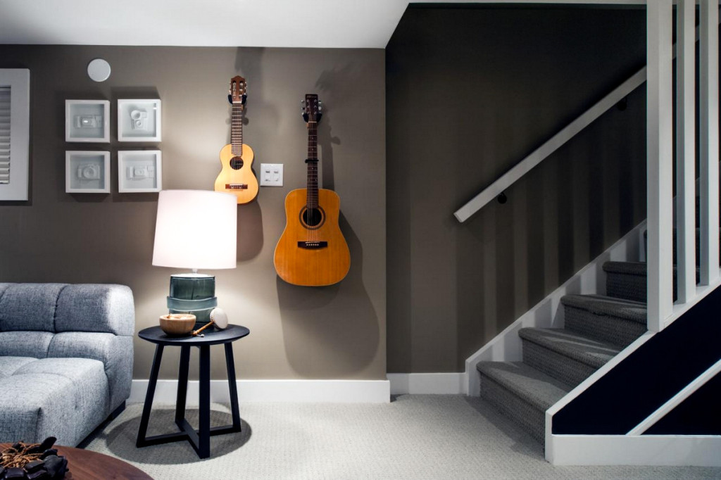 How To Decorate A Room With Guitars Peter Staunton Design