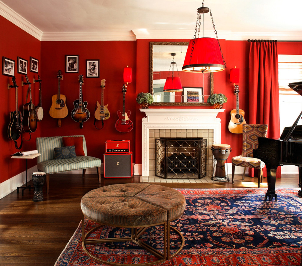 Peter Staunton Interior Design - Rock n Roll Chic Decor