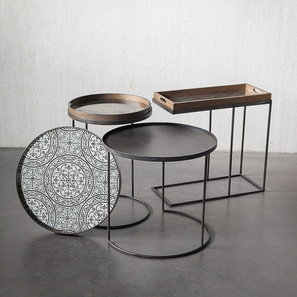 Side Tables we recommend for rock n roll chic style peter staunton interior design london warwickshire leamington spa (12)