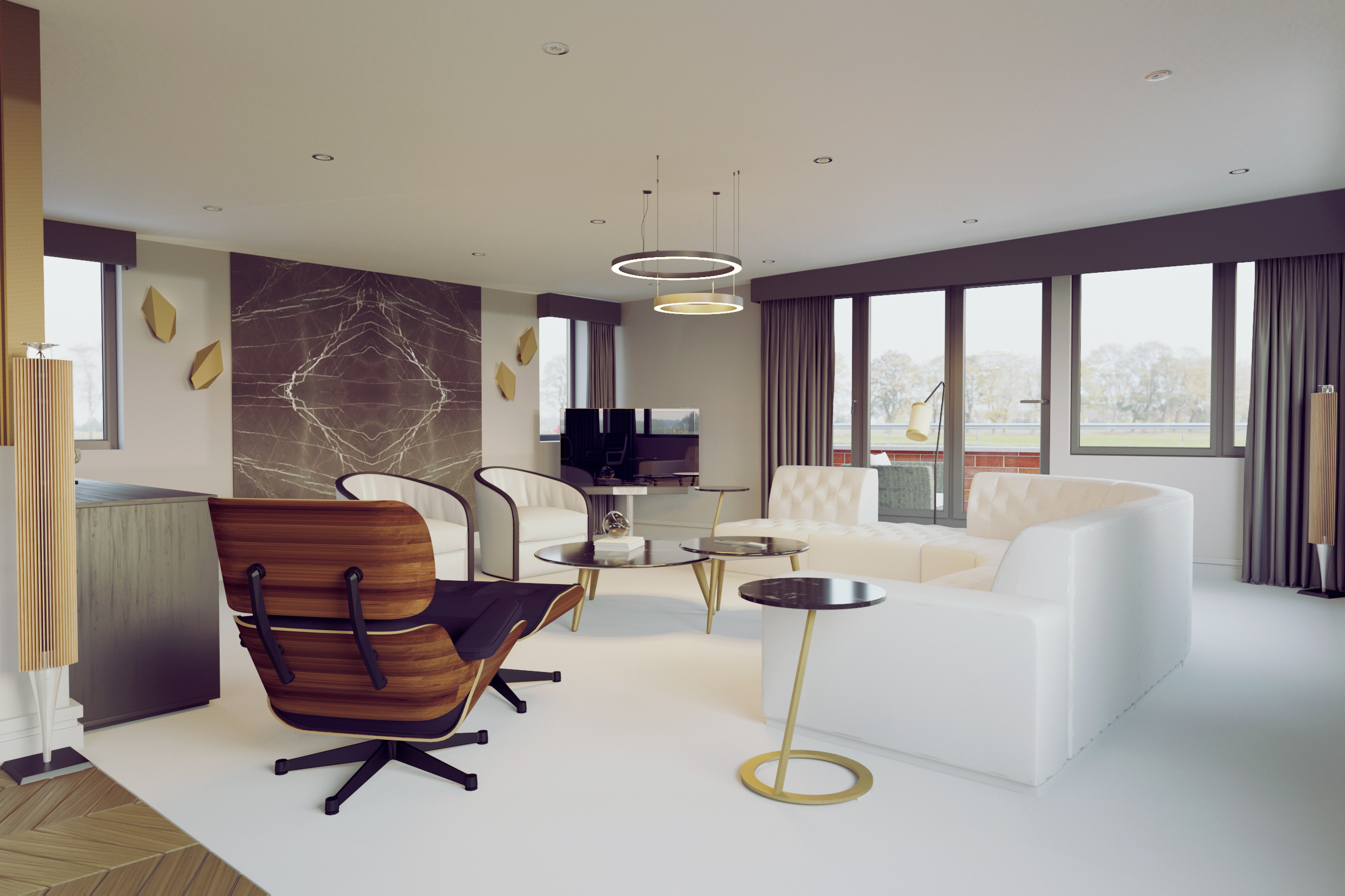 Lawn Penthouse Lounge HD Image